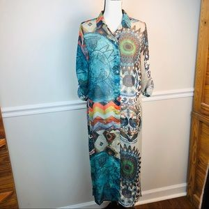 Desigual it's not the same shirt dress size small